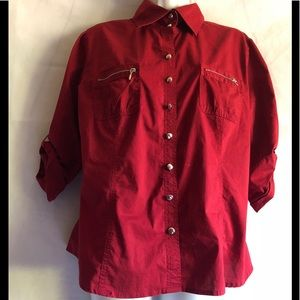 Beautiful gently used red shirt!